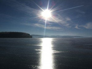 Winter at Lipno