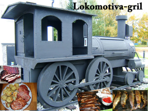 Locomotive grill
