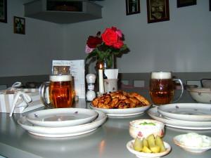 Essen für unsere Gäste